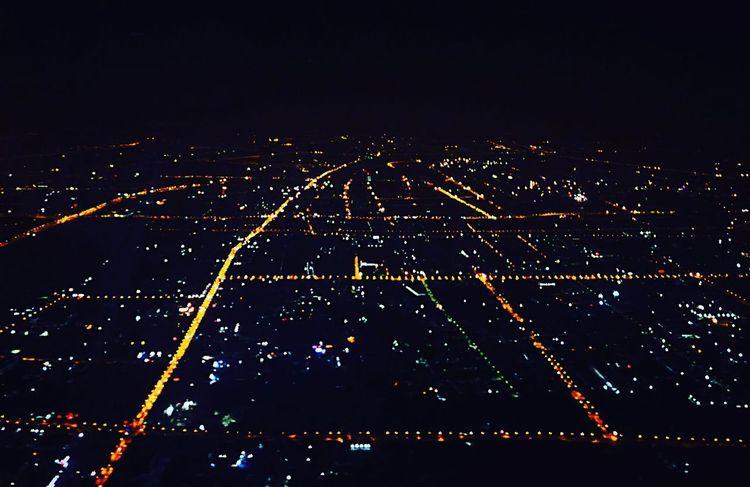 Shanghai Shanghai Hongqiao Airport Night Illuminated Sky No People Nature Low Angle View Lighting Equipment