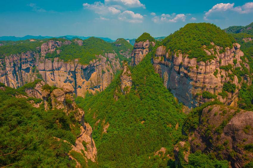 China Photos Nature Zhejiang,China Karst Mountain Mountain Mountain Range Rock Ziseetheworld Ziwang