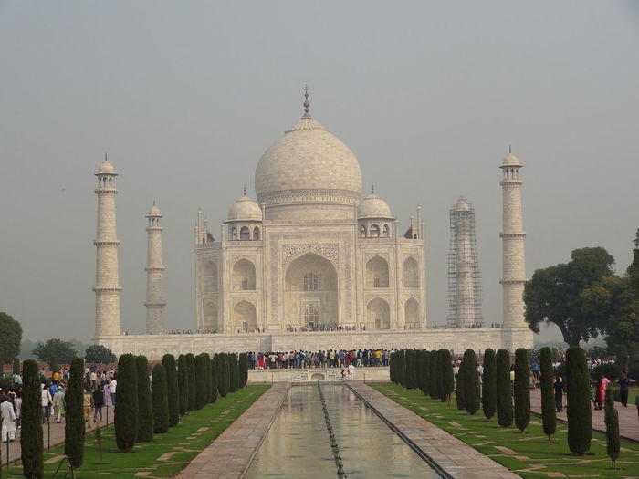 Taj mahal- One of the 7 wonders of world 7 Wonders Of The World 7 Wonder 7 Wonders Taj Mahal Taj Mahal, Agra Taj Mahal, India, Wonder, Love, Mughals, Place Of Worship Architecture Building Exterior Built Structure History Mughal Taj Tajmahal Agra India. Tajmahal India Tourism Travel Destinations Wonder
