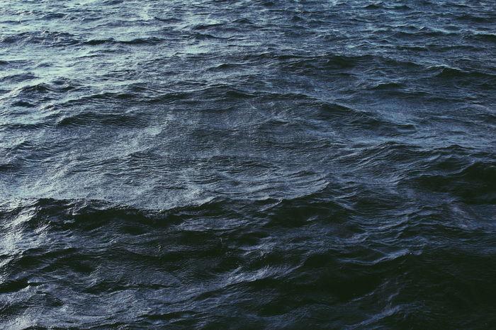Backgrounds Beauty In Nature Beauty In Nature Dark Dark Blue Sea Dark Sea Deep Deep Blue Deep Sea Minimal Minimalism Minimalism In Nature Nature Nature Nature Minimal Rippled Sea Sea View Texture In Nature Textured  Textures VSCO Vscocam Water Wave EyeEmNewHere Breathing Space