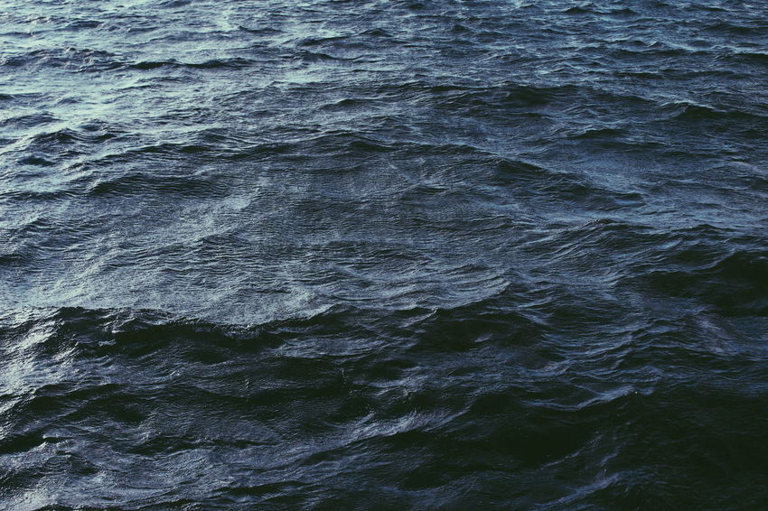 Backgrounds Beauty In Nature Beauty In Nature Dark Dark Blue Sea Dark Sea Deep Deep Blue Deep Sea Minimal Minimalism Minimalism In Nature Nature Nature Nature Minimal Rippled Sea Sea View Texture In Nature Textured  Textures VSCO Vscocam Water Wave EyeEmNewHere Breathing Space