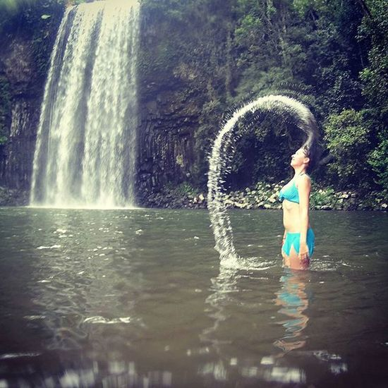 @lauren_e_venables enjoying herself in the water around the Milla Milla Waterfall, Queensland, Australia ----------------------------------------------------- Millamillafalls Cairns Cairnsofinstagram Exploreaustralia Queensland Waterfall Girl Girlfriend Bikini Falls Waterfall Hairflip SonyActionCam Actioncam Travelgram Instatravel Instapic Instagram Sheissobeautiful Love Takemeback