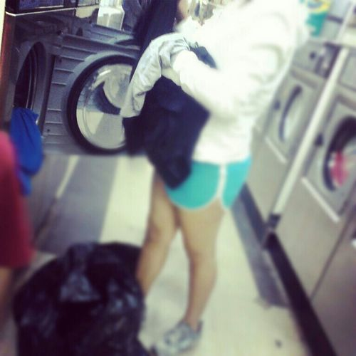 Washing Clothes :c