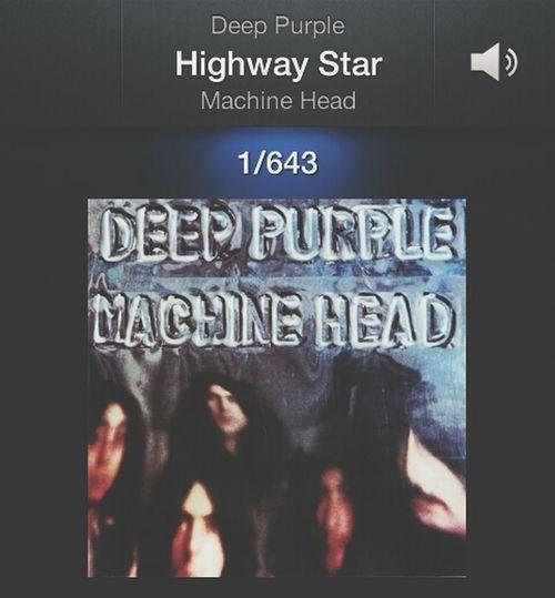 It's like a drug. Deeppurple Highwaystar