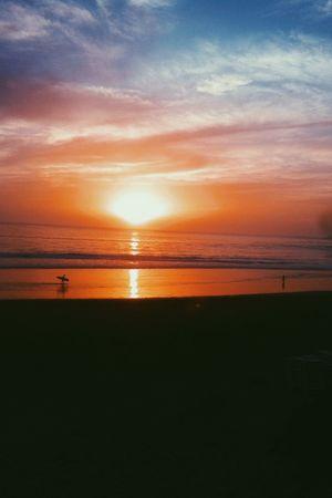 The EyeEm Facebook Cover Challenge Sunset Enjoying The Sun Surfing