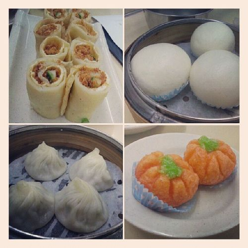 Dimsum for dinner as celebration for my end of poly exam with bf ♥. Our second time to swee choon, yet we got lost while on the way to there once again *failed* hahaha. @jyangsaw Part1 YumYum Nomz 230813 dimsum enjoylife yay