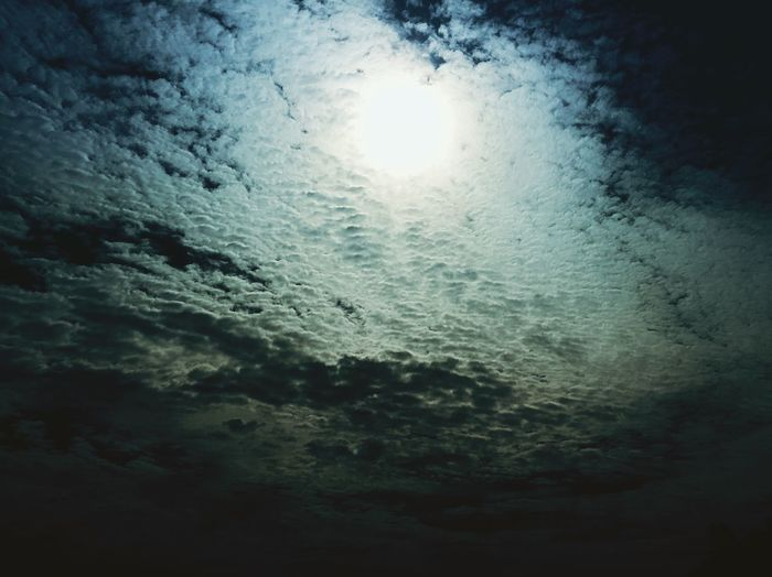 Sky Cloud - Sky Nature No People Low Angle View Beauty In Nature Sunlight Tranquility Sun Backgrounds Full Frame Day Outdoors Water Scenics - Nature Moon Tranquil Scene Moonlight Bright