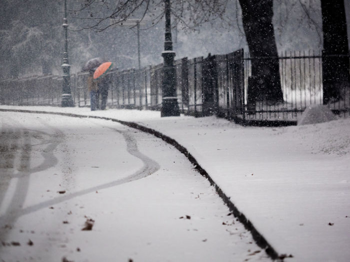 Snow Winter Cold Temperature Transportation City Street Snowing Road Nature Storm Mode Of Transportation Car Wet Motor Vehicle Rain Day Architecture Extreme Weather No People Blizzard Outdoors