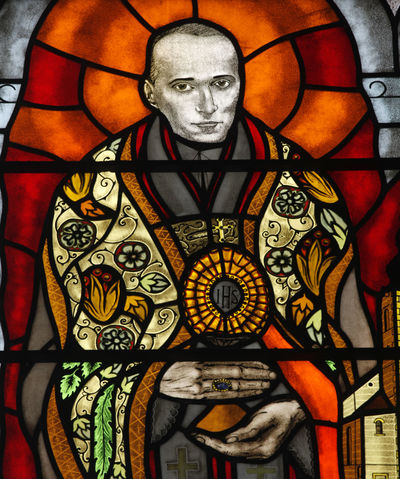 Blessed Aloysius Stepinac Aloysius Stepinac Belief Blessed  Christianity Church Croatia Faith Holy Place Of Worship Religion Religious  Saint Spirituality Stained Glass Stepinac Window Windowpane Worship