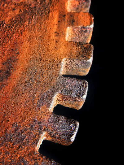 Steel Close-up Day Nopeople Phuket,Thailand Rust Cog In Studio