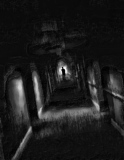 Home Sweet Home. Black & White Dark Fairytale Light And Shadow Heros & Villains Darkness And Light Fairytales & Dreams Creative Power Ghostwalker Painted Pictures Twisted Portrait