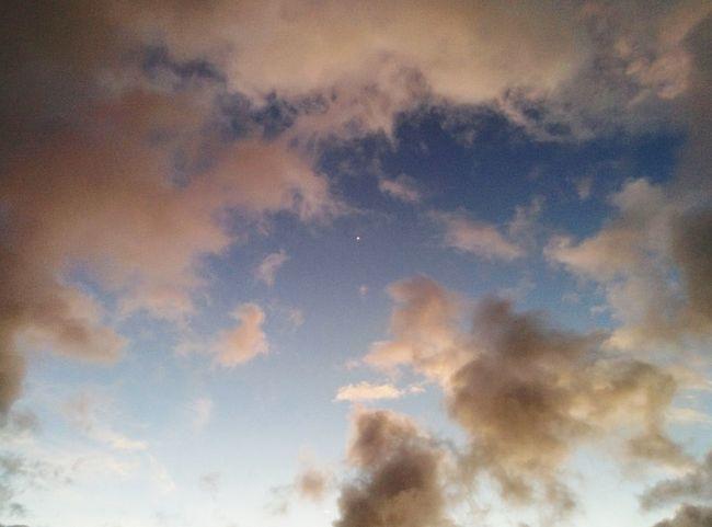 Morning Sky in Oahu, Hawaii