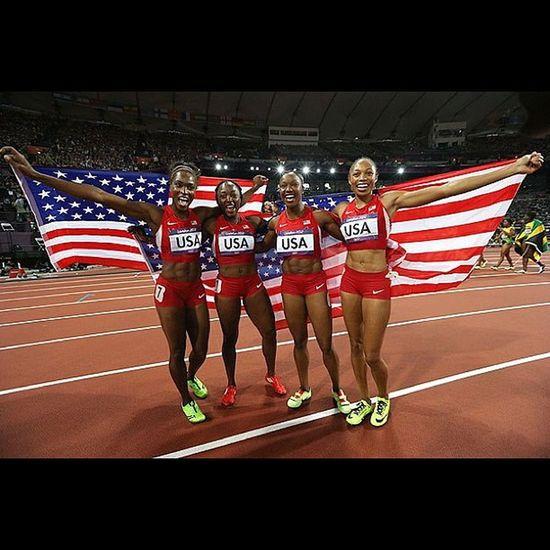 Congrats ladies!!! Teamusa 2012olympics