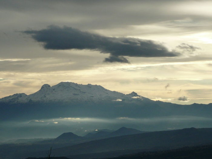 Beauty In Nature Cloud - Sky Iztlacihuatl  Majestic Mountain Mountain Peak Mountain Range Nature Outdoors Scenics - Nature Tranquil Scene Tranquility