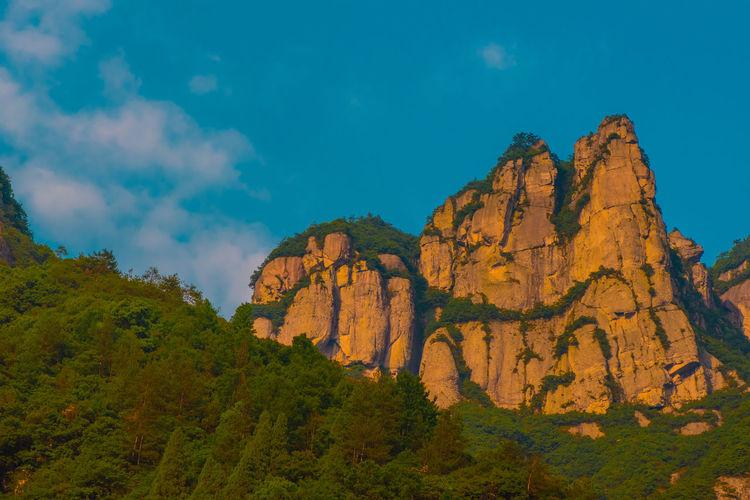 China Photos Nature Zhejiang,China Karst Mountain Ziseetheworld Ziwang Mountain Mountain Range Rocks