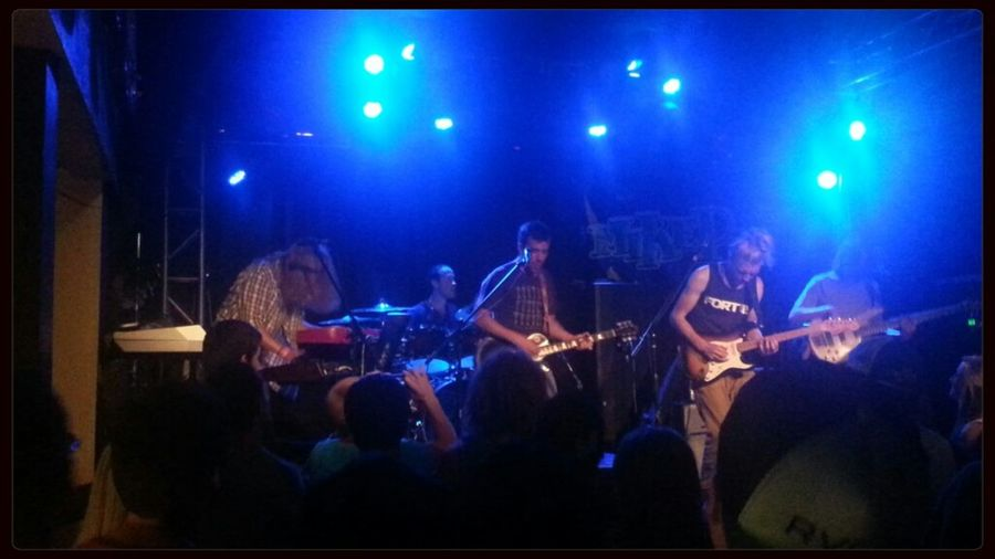 From Philadelphia, Three Legged Fox. Concert Rocking Out Live Music Awesome Performance