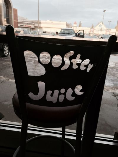 Booster Juice Chair