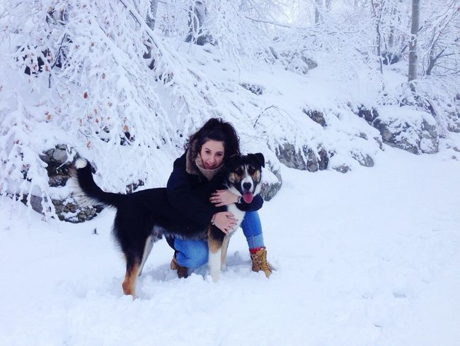 That's Me Mydog♡ Snow Day Myguardianangel Moments
