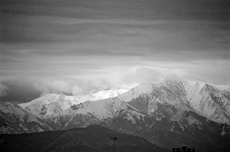 Mountain View Alps Piedmont Italy Blackandwhite Photography From The Window Grey Sky Greyscale Turin Mountain Power In Nature Snow Sky Mountain Range Snow Covered Snowcapped Mountain Snowcapped Cold Temperature Snowfall Rocky Mountains Tranquility Weather Tranquil Scene Idyllic Frozen Covering