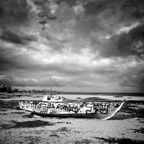 Kim  Mobgraphia Snapseed Redmi2 Candeias Barco Boat Peb  Bnw Byn Desafiodasfotoslivre Babilonia081 ClickRedmi