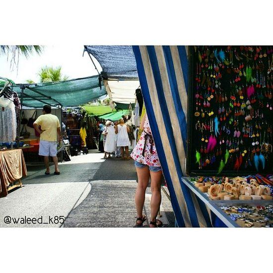 Various Merchants at the Saturday Market . Marbella andalucía Spain españa. Taken by my sonyalpha dslr a200. Taken in my 2010 summer trip ماربيا اسبانيا سوق