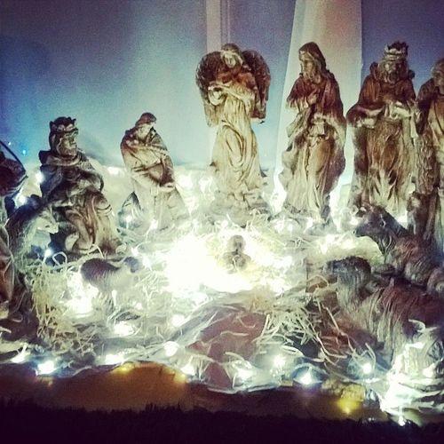 Navidad Pesebre Luces