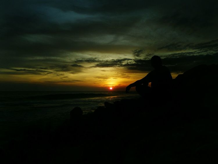Late Post  Sunset Acehselatan Sea