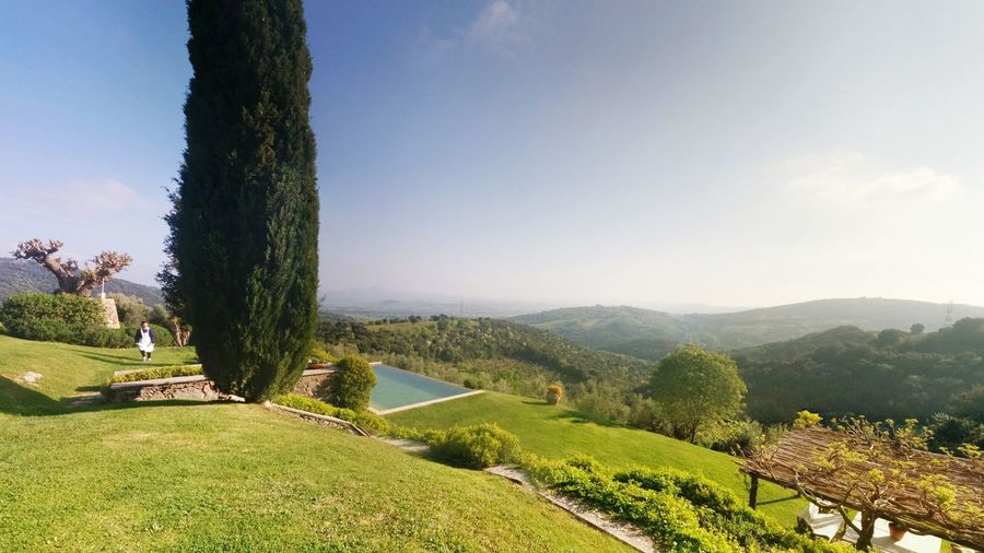 Checking In Landscape Relaxing Wedding Tuscanygram Panorama