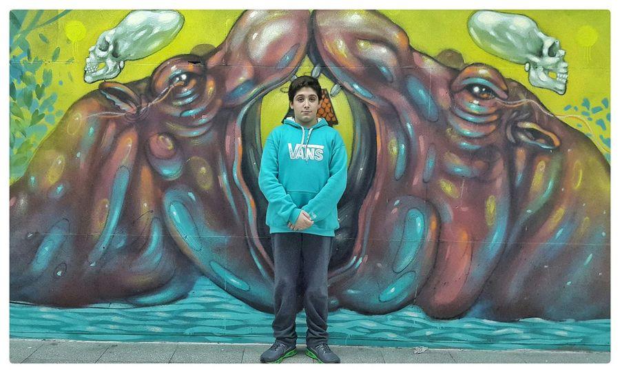Hipopótamos Hipopotamó Hipopotam Mural Murales Mural Art Wall Art Wallart Grafitti Grafitti Wall Grafitti Art.