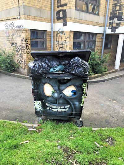 Angry bin