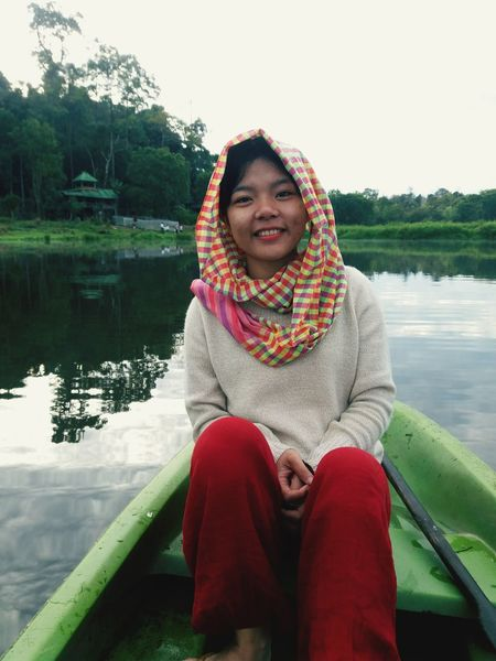 My sound belong to this place! Natural Peaceful View Namcattienjungle Vietnamese Taking Photos Samsungphotography Lodvieliz Vidilungtung National Park EyeEm Selects One Woman Only Sitting Adult Sweater Weekend Activities Happiness Cheerful Smiling Outdoors