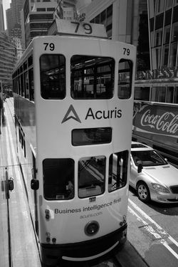 Tram Blackandwhite FujifilmX70
