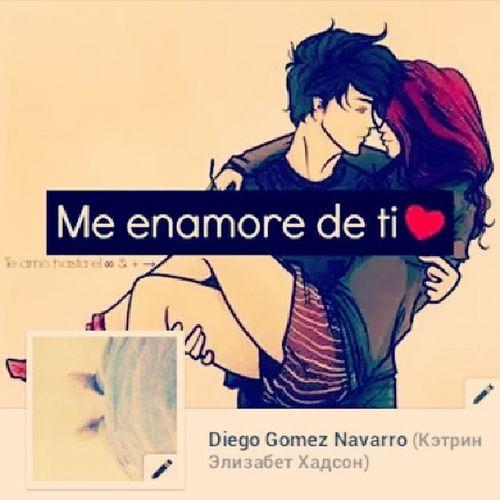 Me_Enamoré_De_Ti <3 Tu_Eres_Mi_Pensamiento_Mas_Hermoso_De_Cada_Día :) :3 :* <3