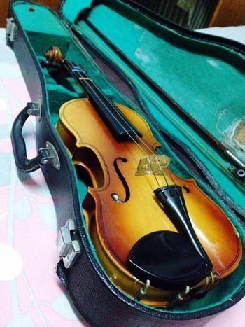 发现了儿时的爱琴 想想没坚持下来还真是有点可惜 还被提琴老师吓出了心理阴影 看来还是无缘?