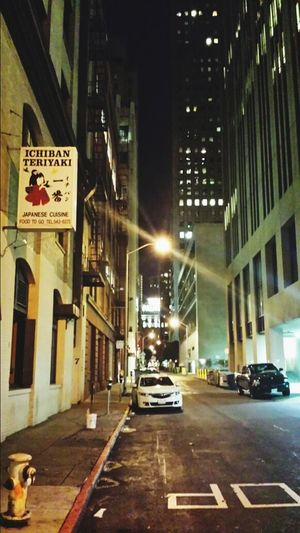 Downtown alley straight to The Palace. San Francisco Backstreets & Alleyways The Palace Hotel Ichiban Nightphotography