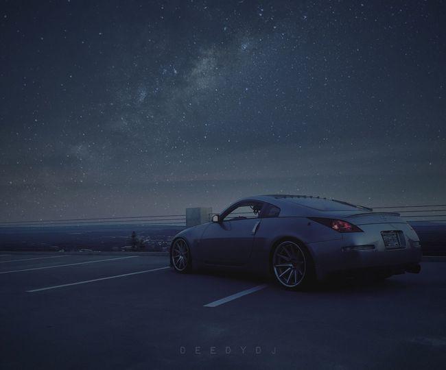 Car Night Star