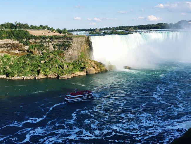 Niagara Falls Nature Beautiful Amazingweather Toronto Summer ☀ Thesix