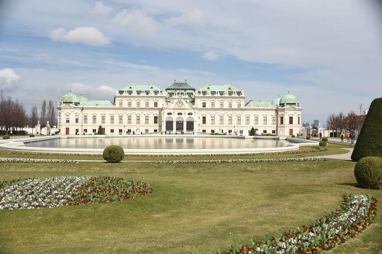 Wien Vienna Wien Vienna Austria Österreich Schloss Belvedere Travel Destinations Architecture Historic Site