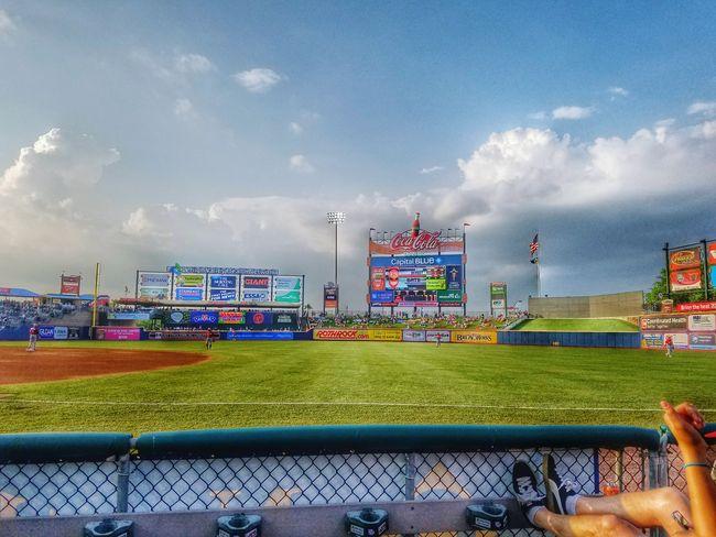 Americas Pastime Baseball ⚾ Memorialdayweekend Amazing Weather
