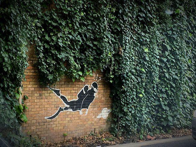 Sub Subacqueo Murales Streetart Art Arte Wall Wallpaint