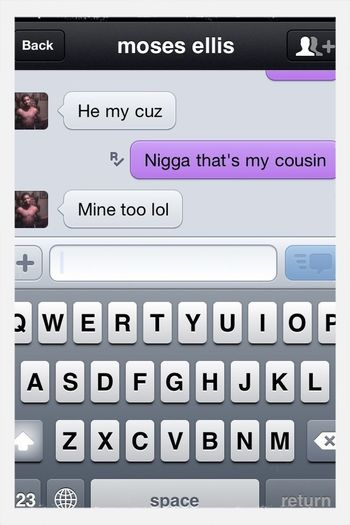 LMBO . Ian Finna Argue With This Dude About My Cousin !