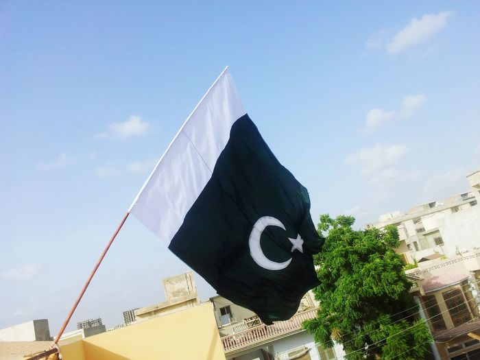 Flag on my roof top !