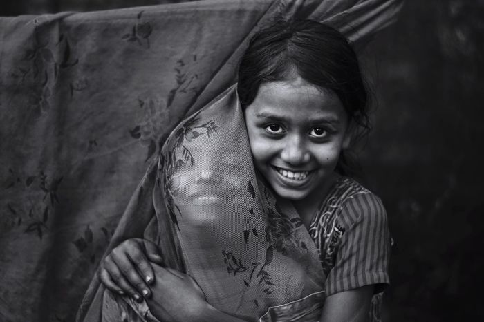 Portraitce of Love is crystal clear. Telling Stories Differently portrait Children It's A Thousand Storys Behind This One Smile :) The Global EyeEm Adventure EyeEm Best Shots - Black + White Chittagong Bangladesh EEA Chittagong EyeEm x ICP - Telling Stories Differently EyeEmNewHere The Portraitist - 2017 EyeEm Awards