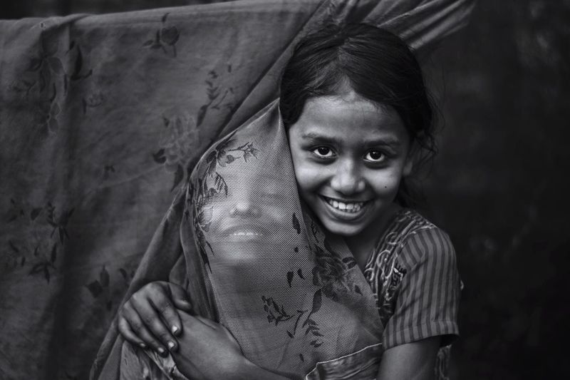 Portraitce of Love is crystal clear. Telling Stories Differently portrait Children It's A Thousand Storys Behind This One Smile :) The Global EyeEm Adventure EyeEm Best Shots - Black + White Chittagong Bangladesh EEA Chittagong EyeEm x ICP - Telling Stories Differently EyeEmNewHere The Portraitist - 2017 EyeEm Awards Inner Power