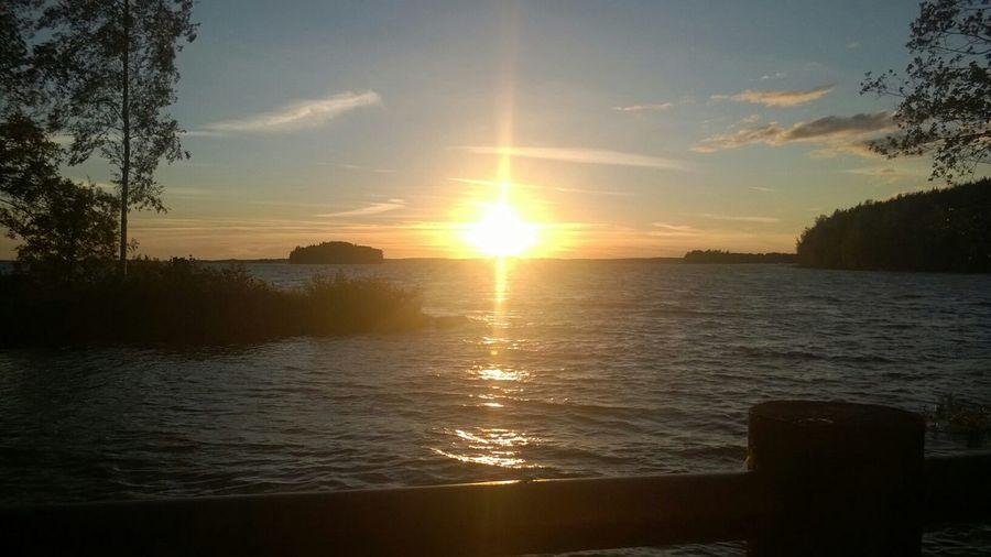 Sunset Sun Lake