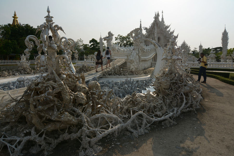 white tample chiang rai,thailand Abstract Architecture ArtWork Buddhism Budha Temple Chiang Mai   Thailand Outdoors Photography Relegion TAM Tradition Traveling White White Color