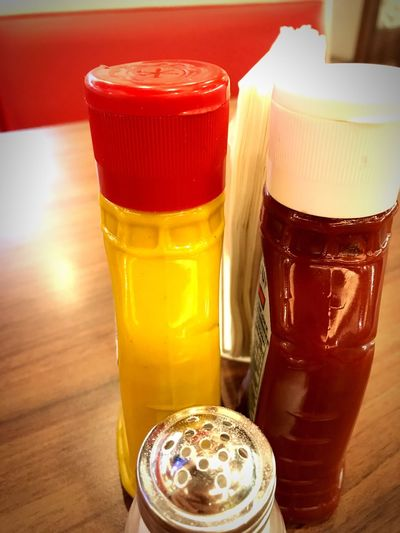 Paint The Town Yellow Paint your plate in yellow... yellow mustard Table Food Sauce Mustard Yellow Mustard
