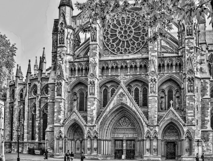 Westminster Abby black and white friday Architecture Built Structure Building Exterior Religion Place Of Worship Belief Spirituality Building Travel Destinations Low Angle View Day Tourism The Past History Travel Sky No People Arch Outdoors Ornate