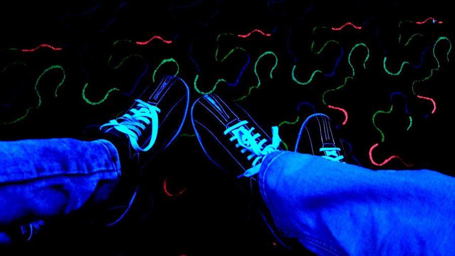 Friends ❤ Friends Indoors  Neon Neon Life Neon Lights Neonlights Neon Color Neoncolors Bowling Bowlingnight Bowling Shoes Bowlingshoes Bowling Night Bowling Time Neon Colored