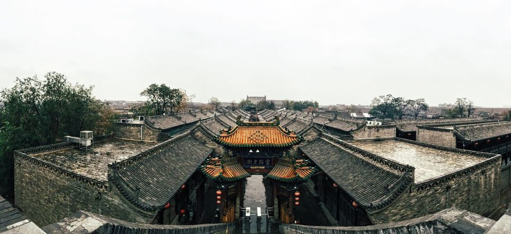 平遥古城 Chinese Culture Old Buildings Architecture Traditional Culture Traditional